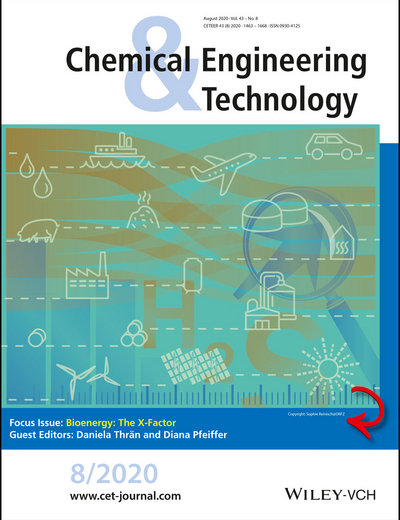 Cover Foto des Journals Chemical Engineering Technology, Ausgabe 8/2020